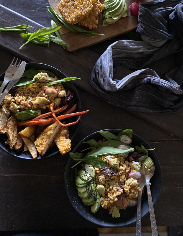 vegan sailing plant based food