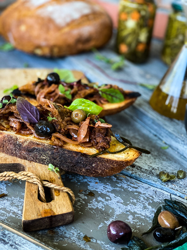 plant based food vegan sailing