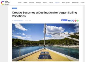 vegan sailing vacations in croatia good food and perfect sailing conditions